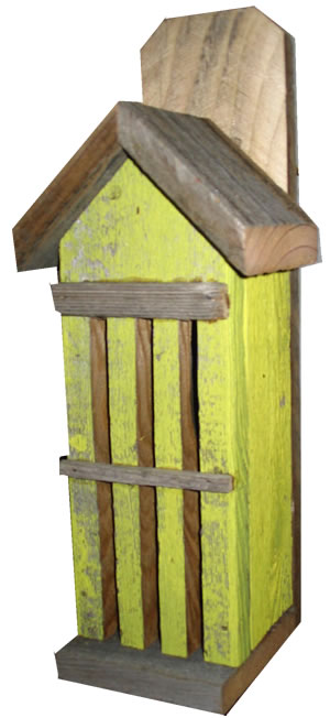 Rustic Butterfly House – Yellow