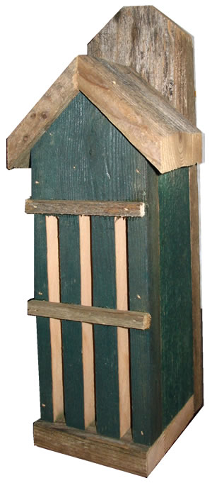 Rustic Butterfly House – Green
