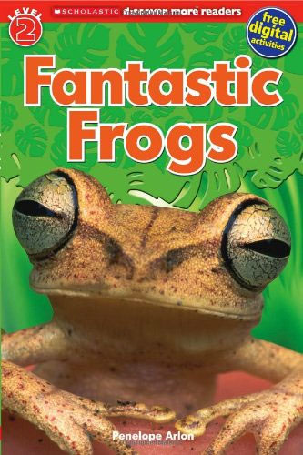"Book: ""Fantastic Frogs"" by Scholastic"