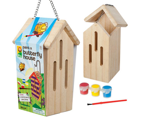 Paint Your Own Butterfly House