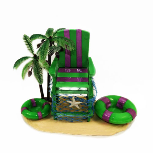 Habitat Centerpiece: Life Guard Chair
