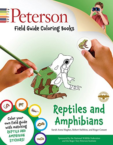 Field Guide Coloring Book: Reptiles & Amphibians