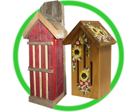 Butterfly Houses & Feeders